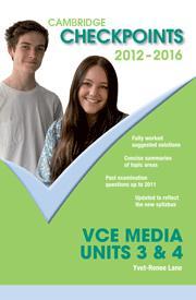 Cambridge Checkpoints VCE Media Studies Units 3&4 2012-2016