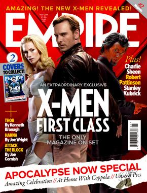 Empire X-Men First Class Cover - Magneto