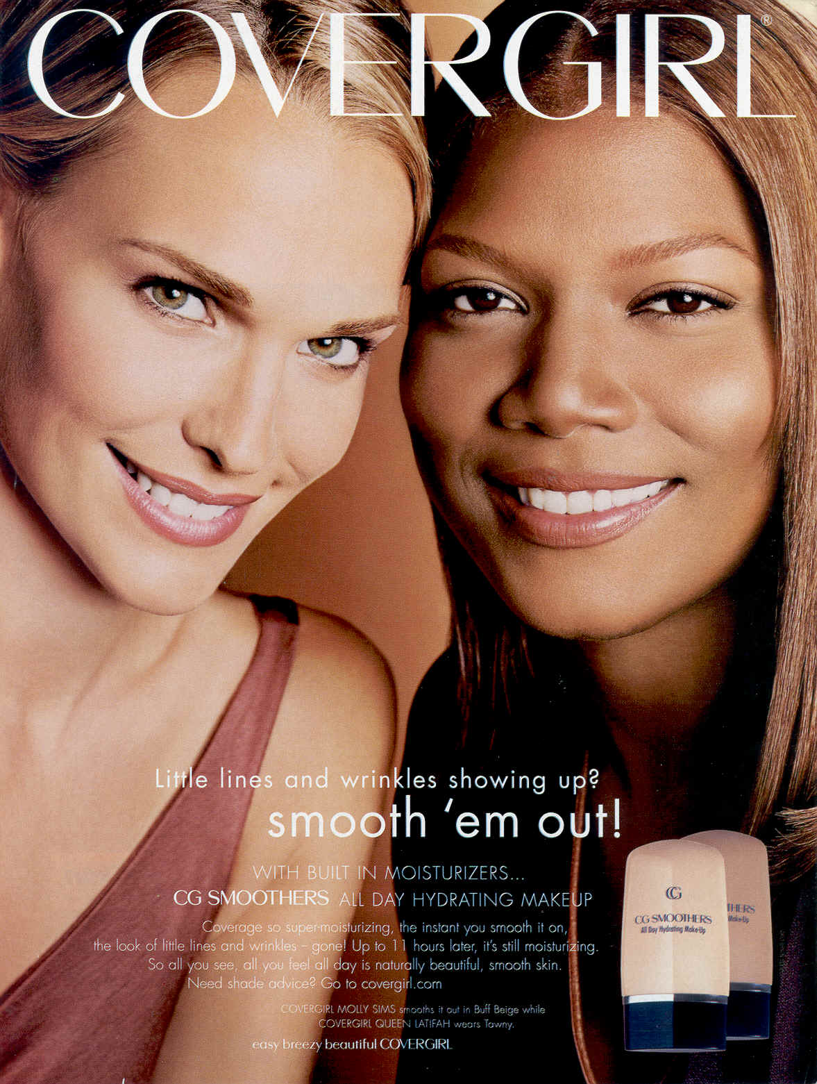 Molly Sims queen latifah