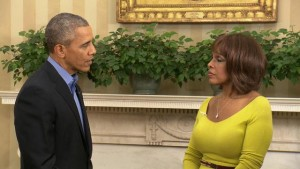 obama and gayle king