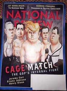national review cage match