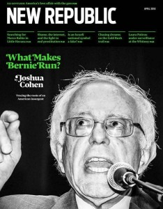 new republic bernie