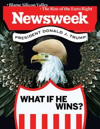 newsweek march illustration
