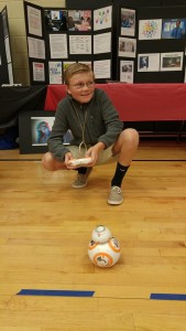 playing with bb8