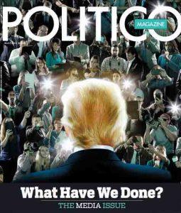 politico trump illustration