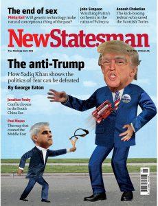 trump illustration new statesman mag