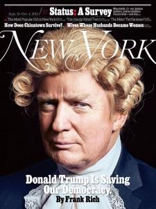 trump in wig