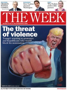 trump the week cover