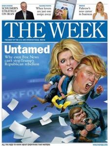 trump the week illustration