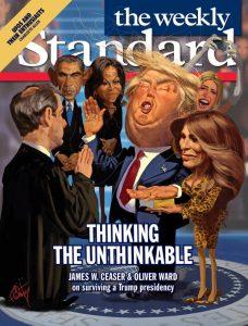 weekly standard trump illustration