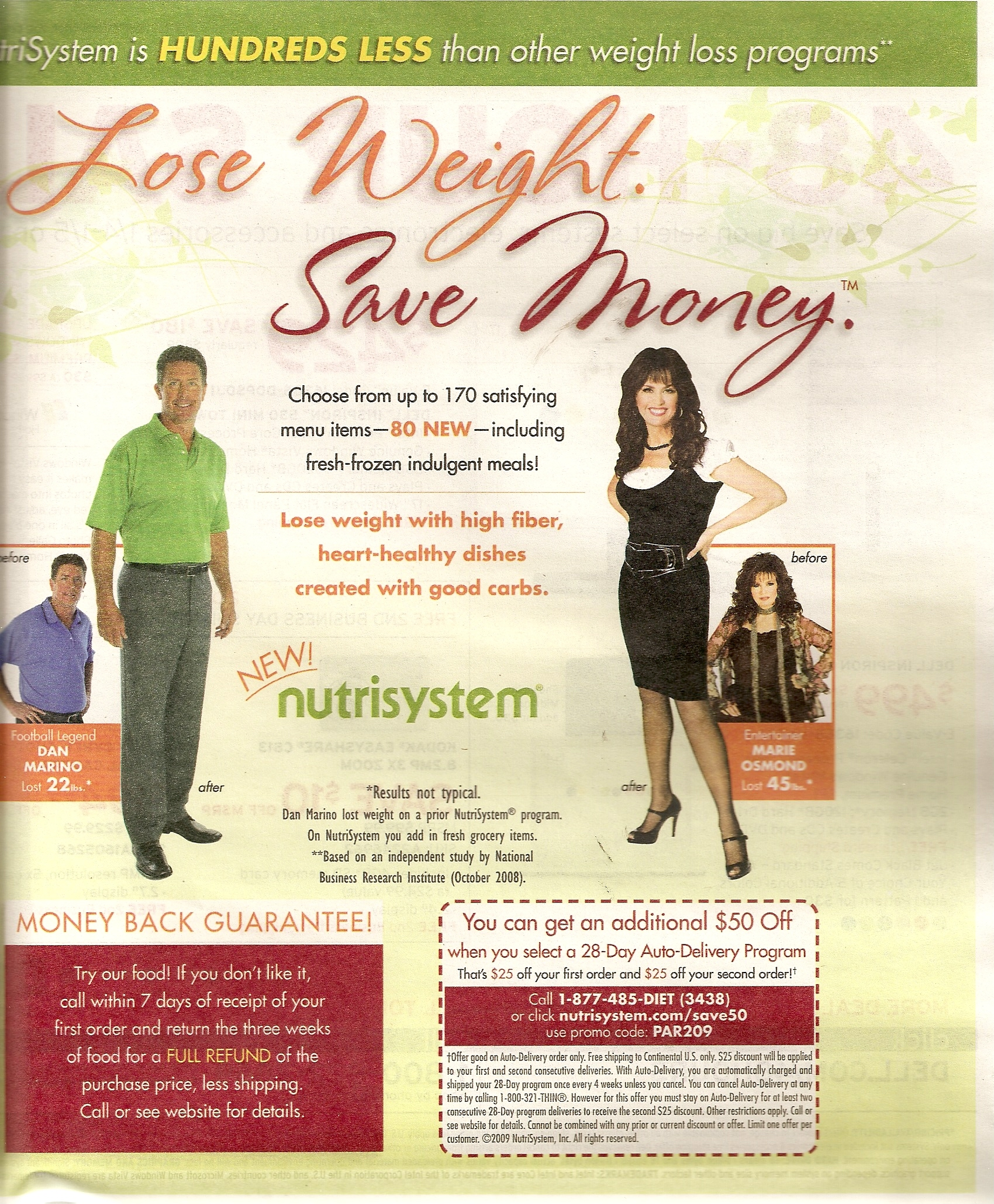 Nutrisystem T Success 28 Day Weekends On Your Own Customized Meal