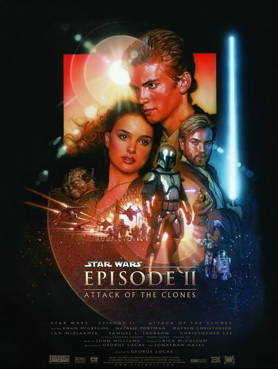 Movie Poster Image for Star Wars Episode 2: Attack of the Clones