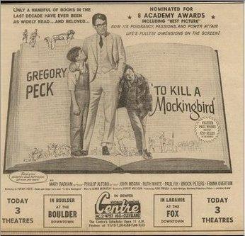 To Kill A Mockingbird: Original Newspaper Ads - Media Literacy